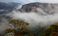 Blue Mountains and Fog